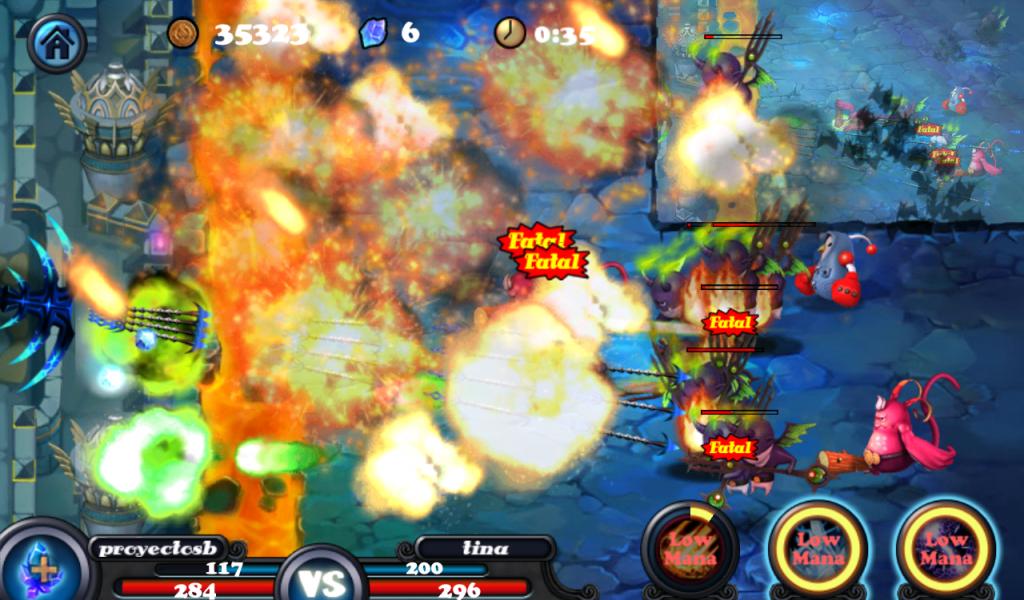 Defender II en Android