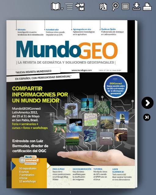 Leer online la revista MundoGEO número 67