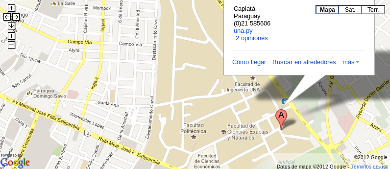 Lugar del HubCon 2012
