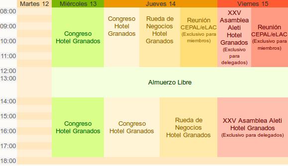 Programa del SUMMIT 2012