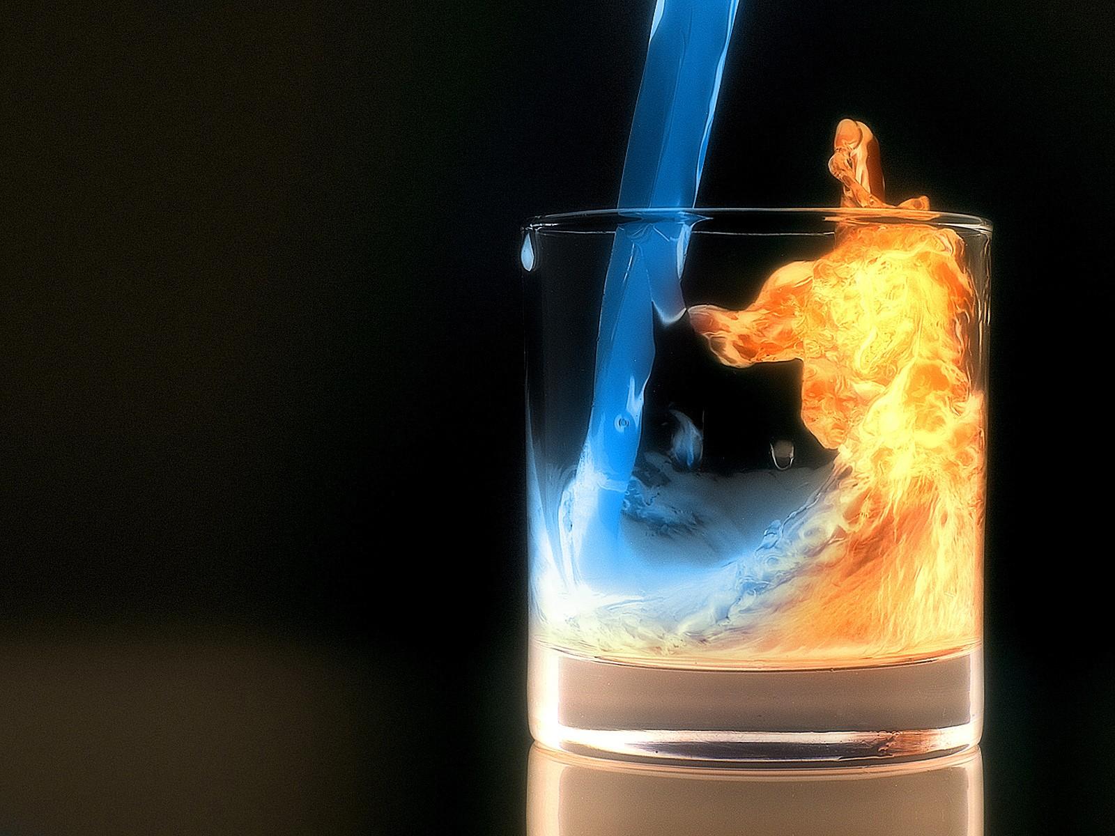 Coctail de fuego y agua