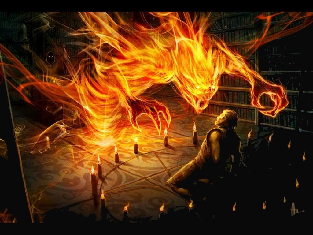 Diablo de fuego
