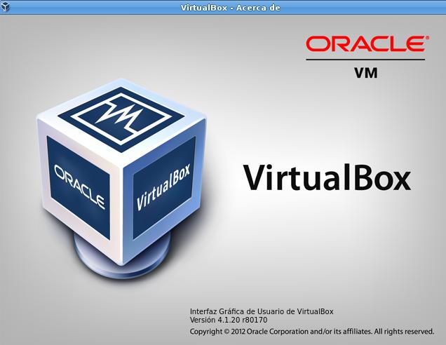 VirtualBox 4.1.20 en Ubuntu 12.04
