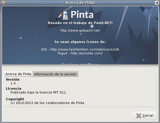 Pinta 1.4 en Debian Squeeze