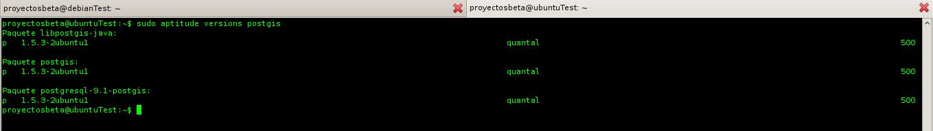 Cómo saber la versión de una aplicación en Ubuntu antes de instalar