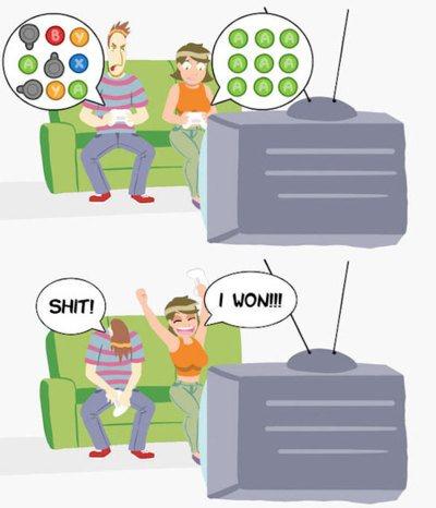 Cosas que ocurren en los juegos