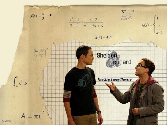 Sheldon y Leonard The Big Bang Theory