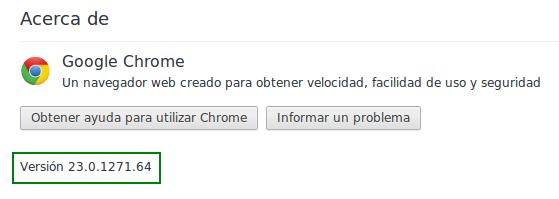 Google Chrome 23 en Ubuntu 12.04