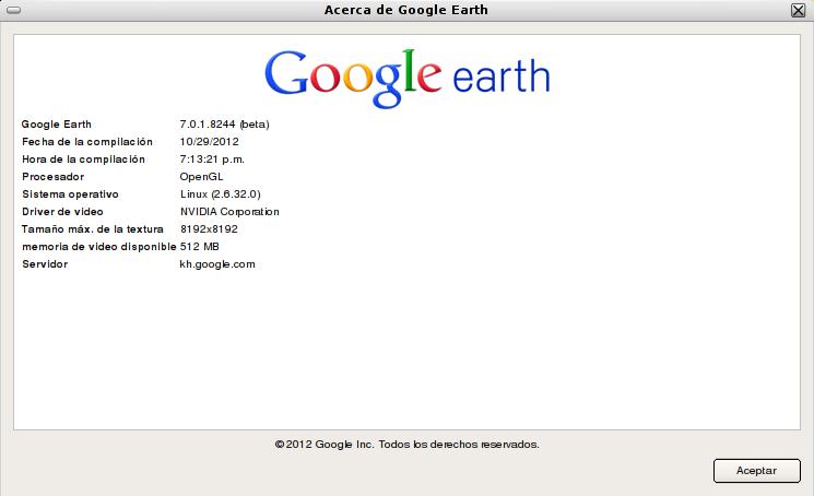 Google Earth 7 en Debian Squeeze