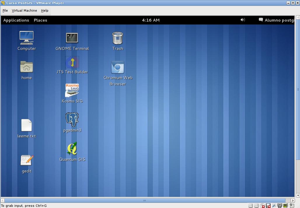 Probando VMware Player 4.0.5 en Ubuntu 12.04