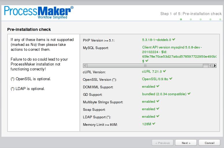 ProcessMaker en Debian Squeeze