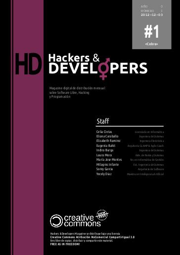 Revista Hackers & Developers número 1