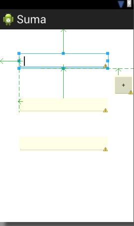 Ejemplo sencillo en Android - Suma de dos números