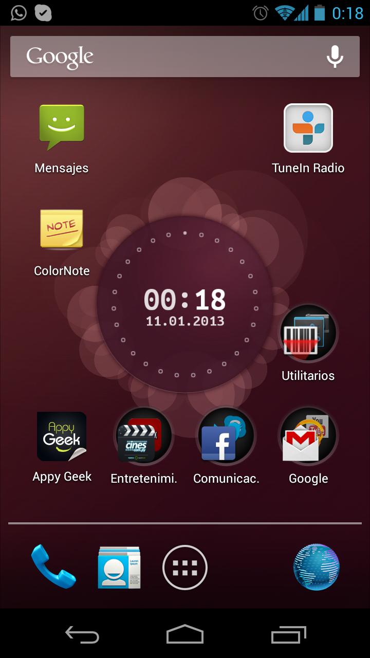 Usar Live WallPaper de Ubuntu en Android