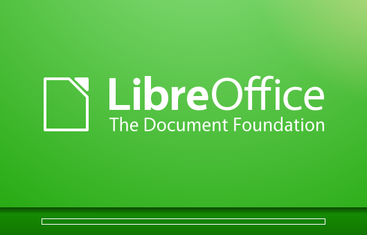Splash Screen por defecto en LibreOfficeSplash Screen por defecto en LibreOffice