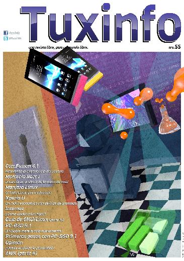 Portada Revista TuxInfo número 55