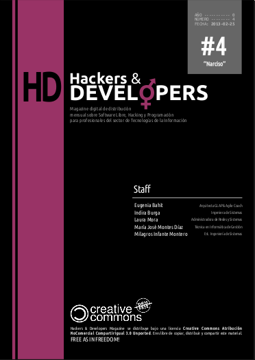 Portada de la revista número 4 de Hackers 6 Developers