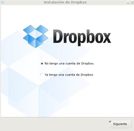 Configurando Dropbox en Debian Wheezy