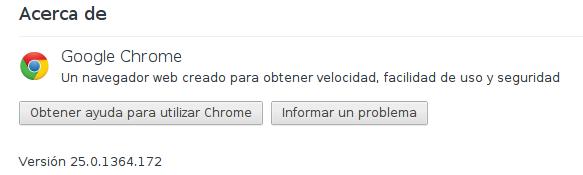 Google Chrome en Debian Squeeze