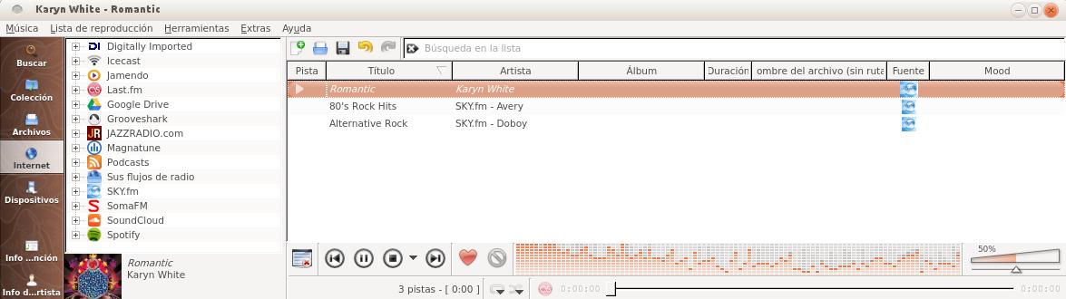 Clementine 1.1 en Ubuntu 13.04
