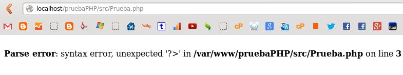 Errores de php en Ubuntu 12.10