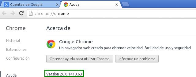Google Chrome en Ubuntu 13.04 Beta 2 de 64 bits