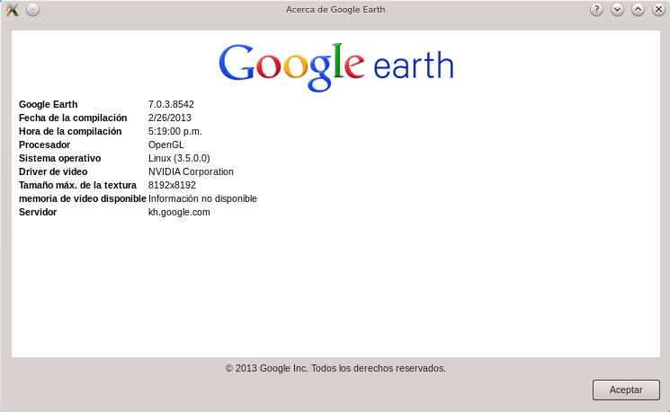 Google Earth 7 en Ubuntu 12.10 de 64 bits