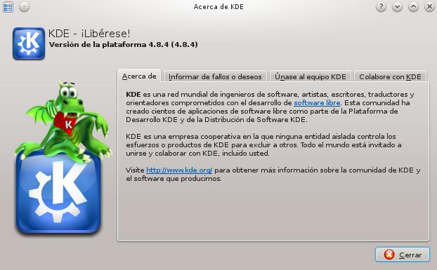 KDE 4.8 en Debian Wheezy