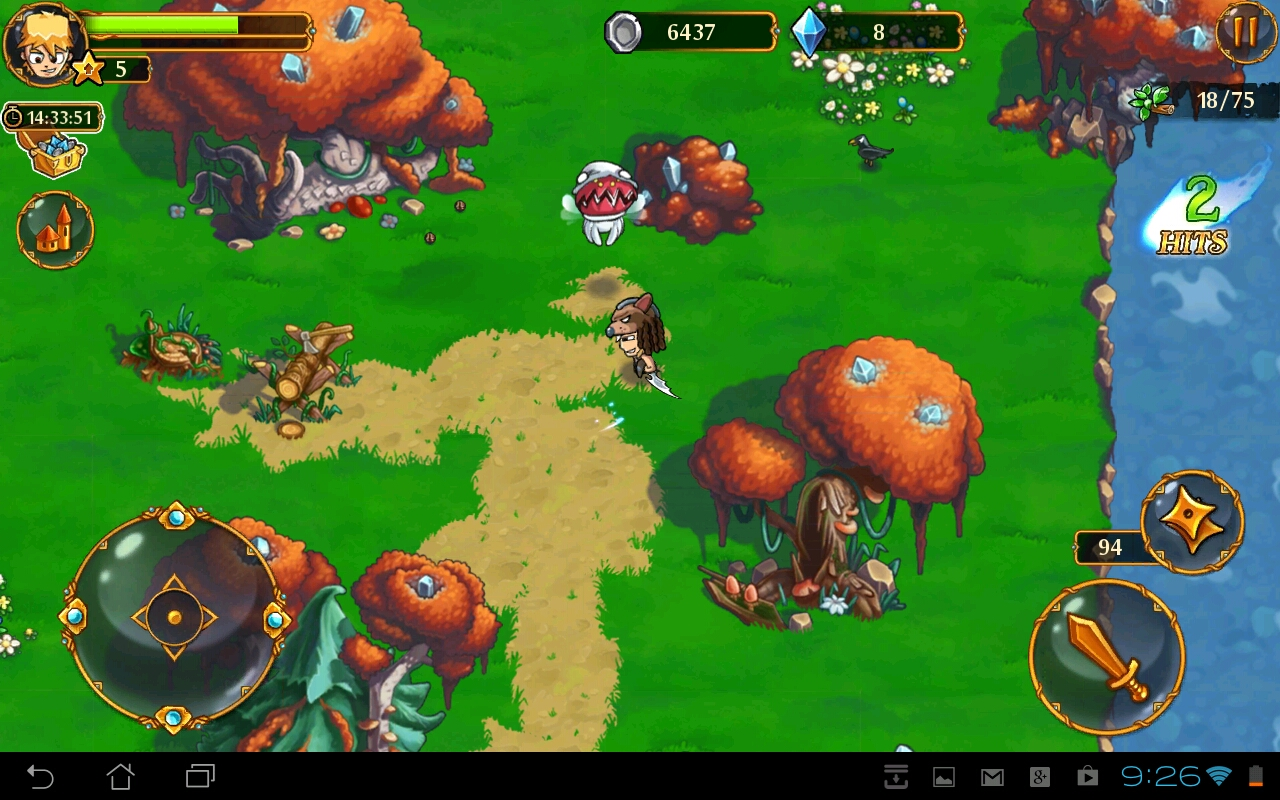 League of Heroes en Android