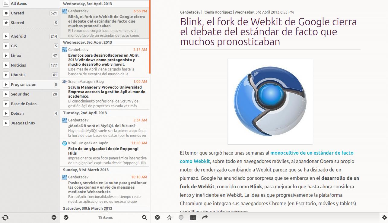 LightReader en Ubuntu 12.10