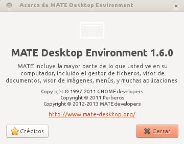Mate 1.6 en Ubuntu 12.10