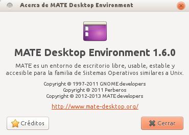 Mate 1.6 en Ubuntu 13.04