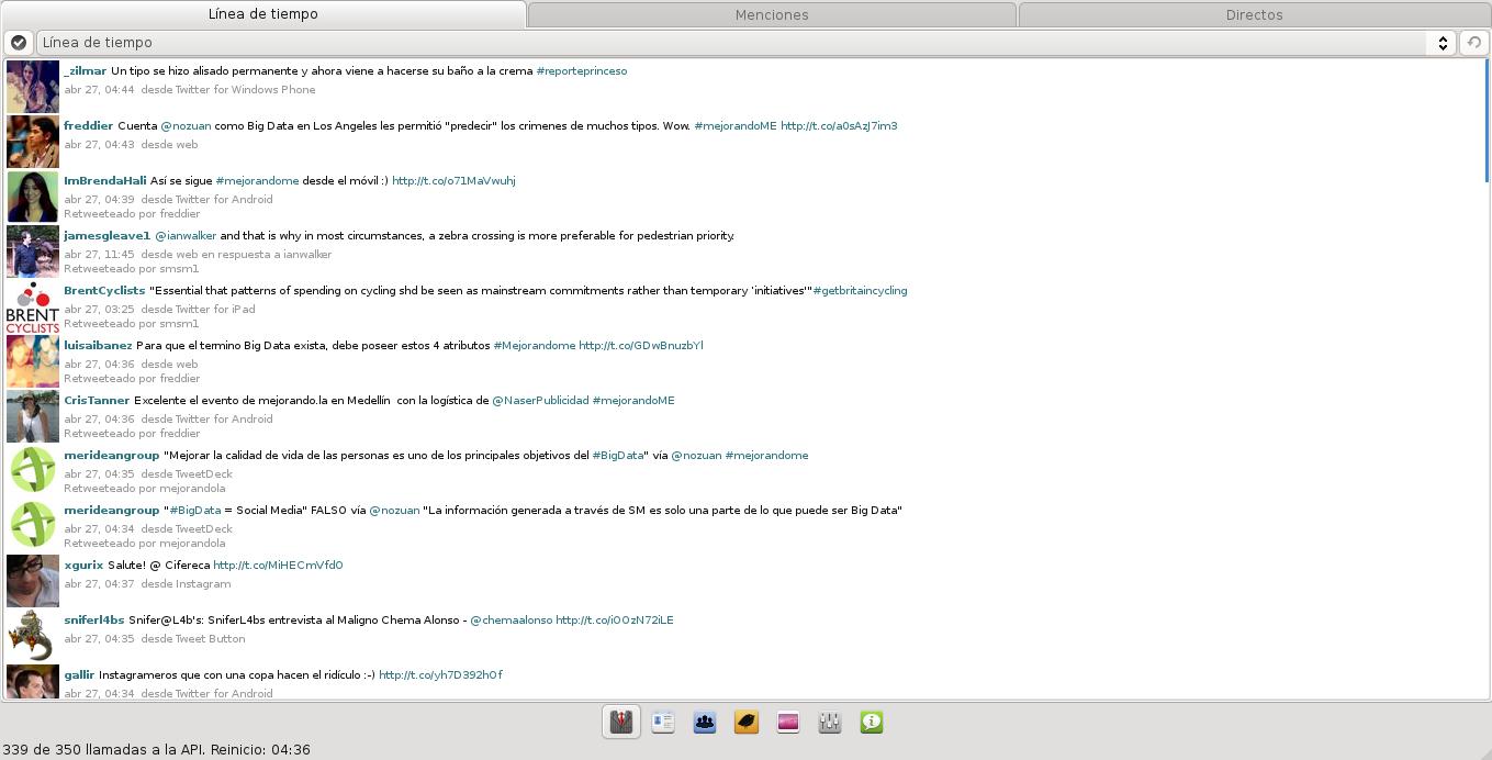 Turpial en Ubuntu 13.04