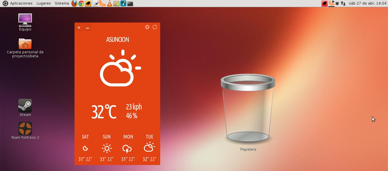 Typhoon en Ubuntu 13.04