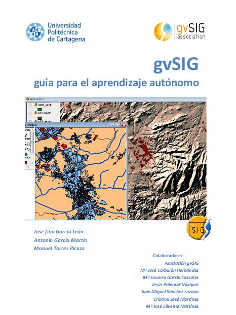 Libro gvSIG: guía para el aprendizaje autónomo