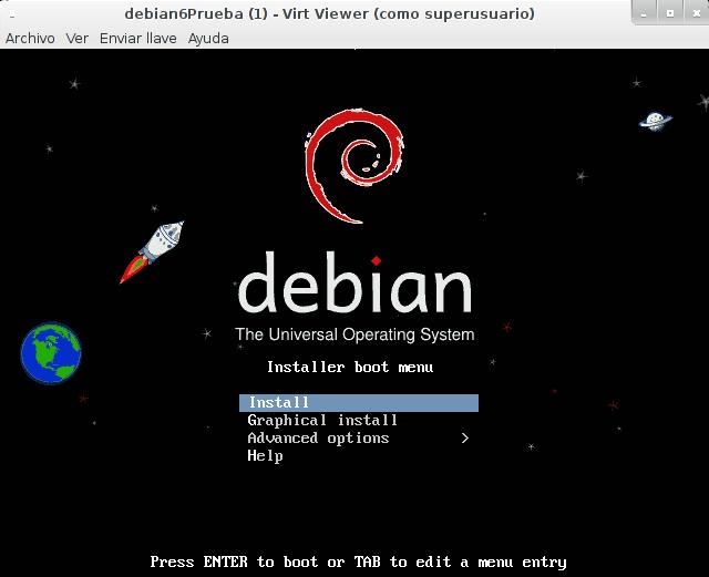 Usando KVM en Debian Wheezy