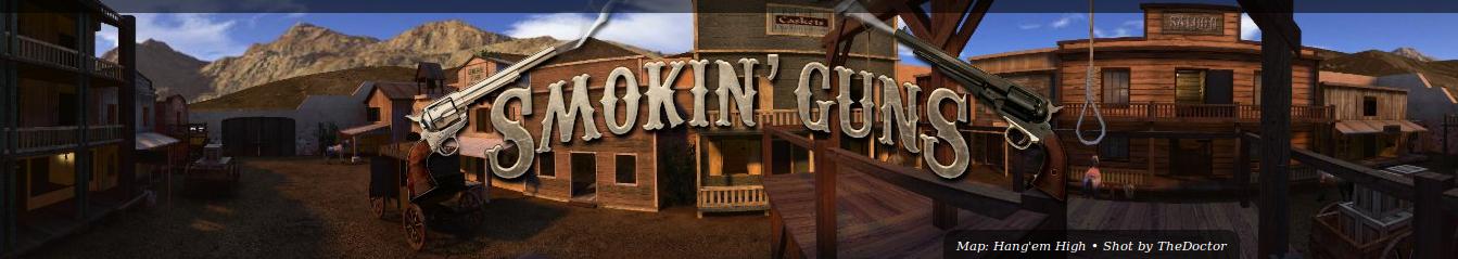 Banner de Smokin' Guns