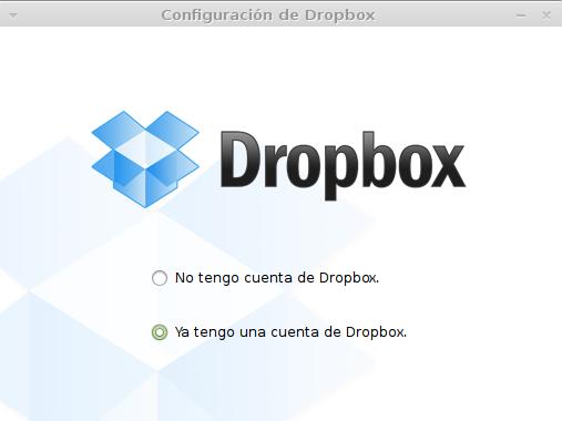 Configurando Dropbox en Linux Mint 15