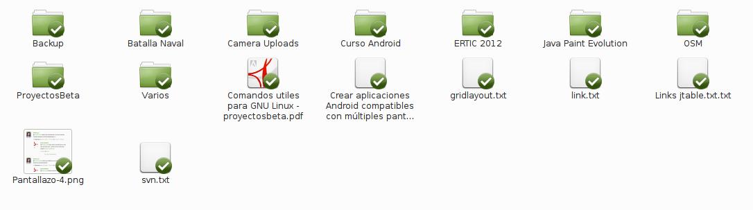 Dropbox en Linux Mint 15