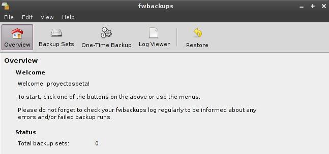 fwbackups 1.43.4 en Debian Squeeze
