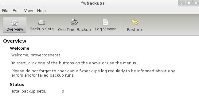 fwbackups 1.43.4 en Debian Wheezy