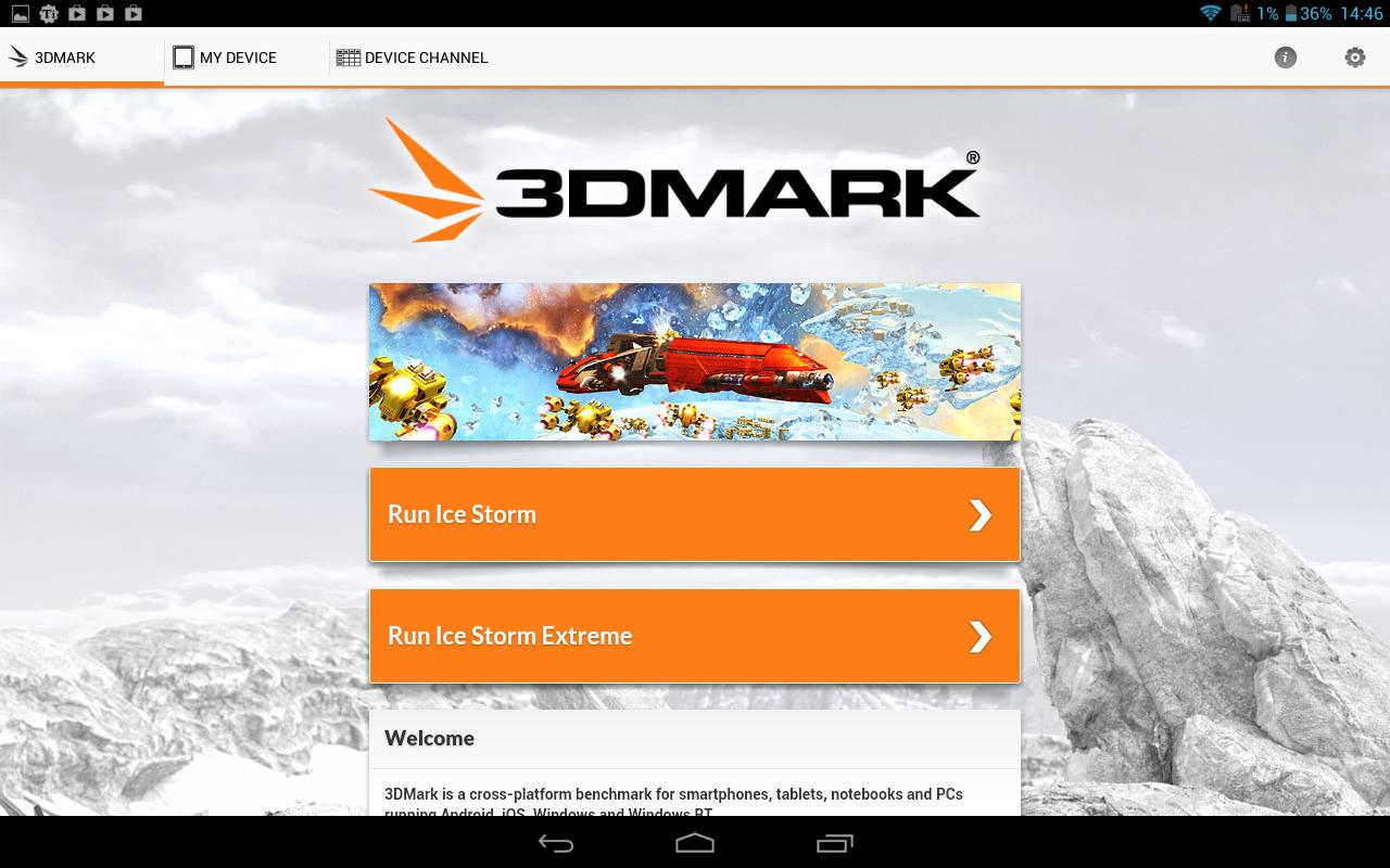 Usamos 3DMark en la Asus Transformer TF101