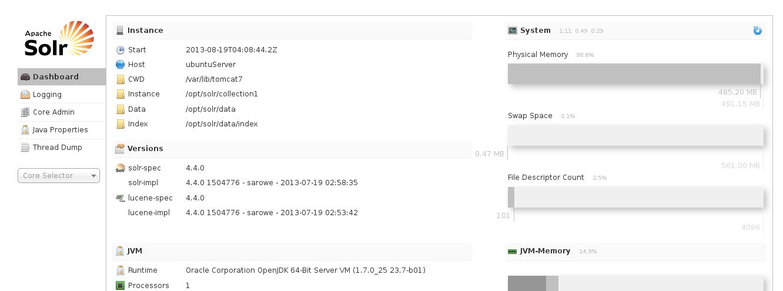 Apache Solr 4.4.0 en Ubuntu Server 13.04