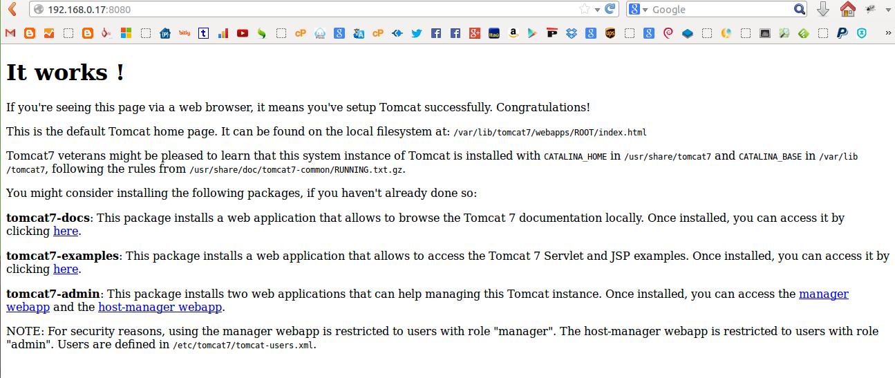 Tomcat 7 en Debian Squeeze