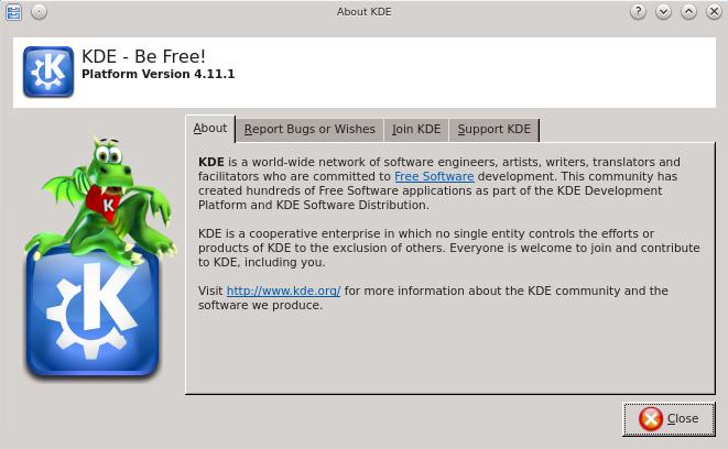 KDE SC 4.11.1 en Linux Mint 15