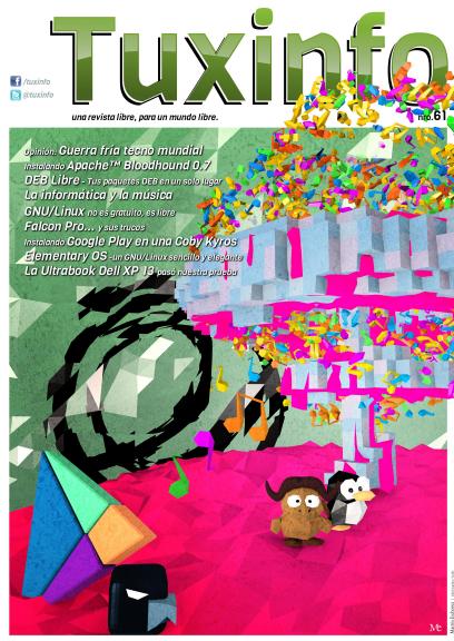 Portada de la revista de TuxInfo número 61