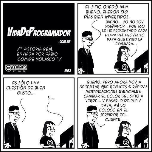 La vida del programador