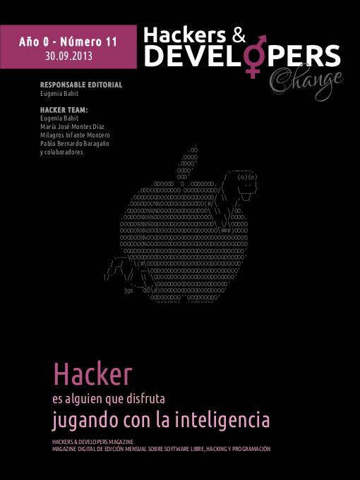 Portada de Hackers & Developers número 11