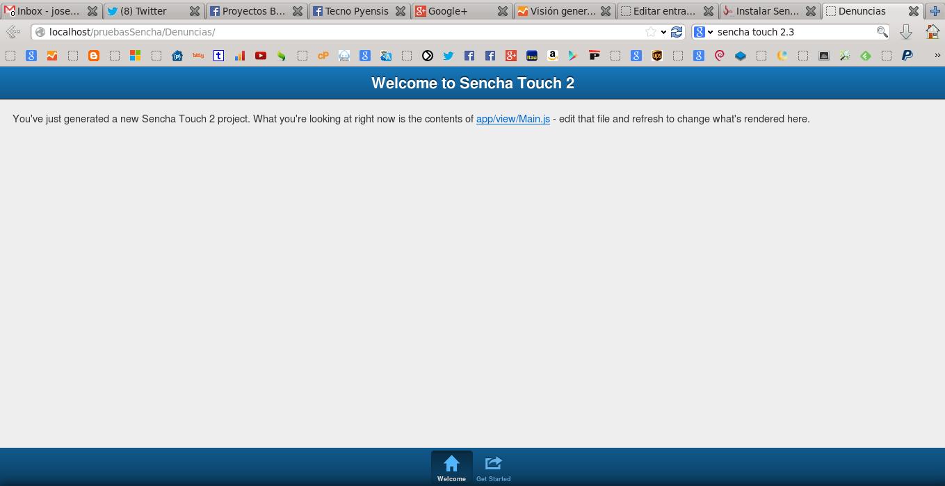 Probando Sencha CMD con Sencha Touch en Ubuntu 13.10