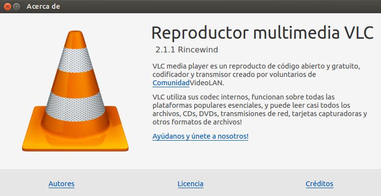 Vlc 2.1.1 en Ubuntu 13.10